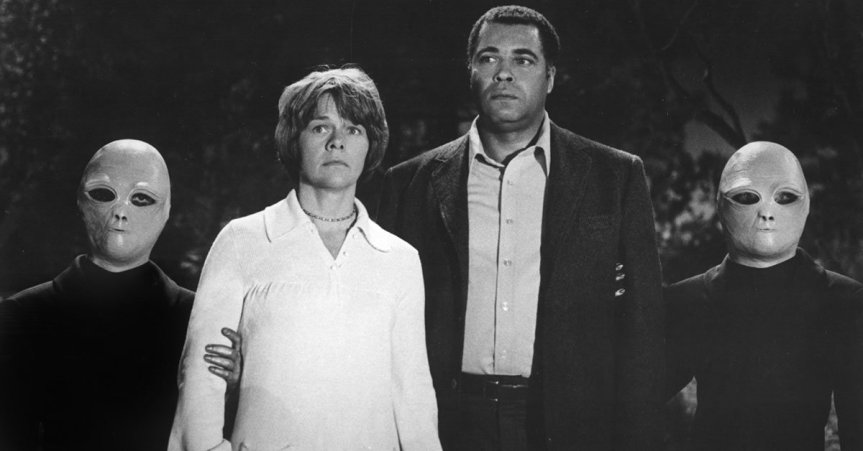 """""""Betty and Barney Hill, Ed and Lorraine Warren, April afternoon."""""""