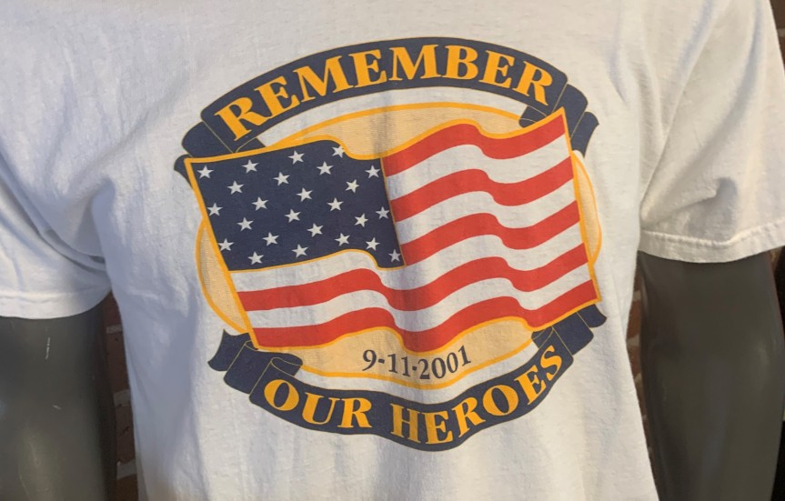 "NINE/ELEVEN:20 — ""AmericanT-Shirts"""